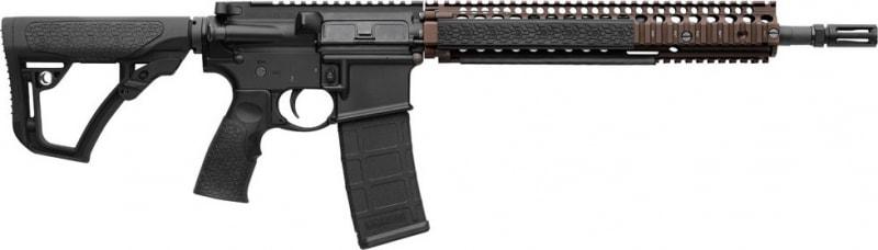 "Daniel Defense 06027011 DDM4 M4A1 Semi-Auto .223/5.56 NATO 14.5"" 30+1 6-Position Hard Coat Anodized/Black Phosphate"