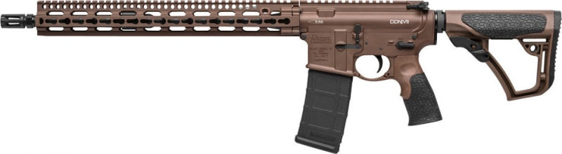 "Daniel Defense 00257047 DDM4 V11 Semi-Auto .223/5.56 NATO 16"" 30+1 6-Position Brown Stock Brown Cerakote/Black Phosphate"