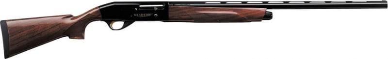 "Weatherby EDX1226PGG Element Semi-Auto 12GA 26"" 3"" Walnut Stock Black"