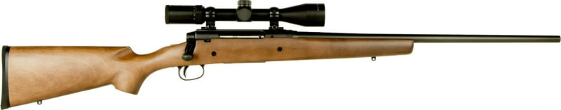 "Savage 22678 Axis II XP with Scope Bolt 6.5 Creedmoor 22"" 3+1 Hardwood Stock Blued"