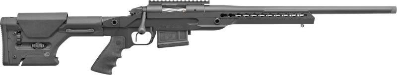 "Bergara Rifles BPR1765LCE BPR-17 Premier LRP Elite Bolt 6.5 Creedmoor 24"" 5+1 Magpul PRS/Aluminum Chassis Black Cerakote"