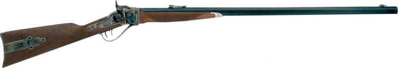 """Taylors and Company 138CABLU 1874 Down Under Lever 45-70 Government 32"""" 1 Walnut Stock Blued Barrel/Case Hardened Receiver"""
