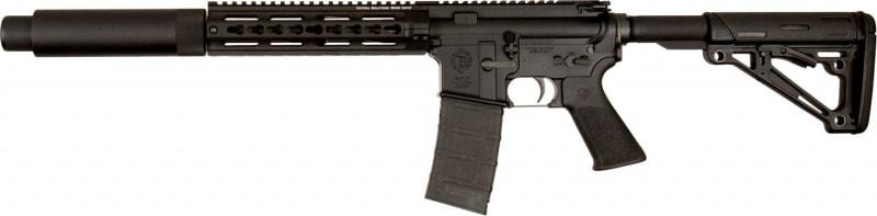"Tactical SolutionsARRT3009K TSAR-300 Complete Semi-Auto 300 AAC Blackout/Whisper (7.62x35mm) 16.1"" 10+1 6-Position Black"