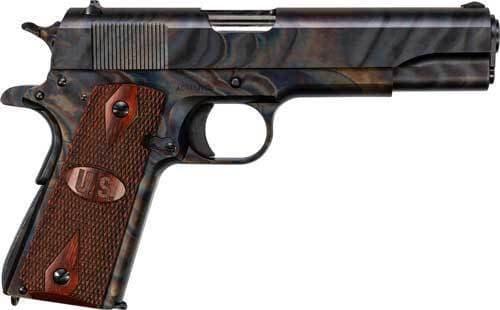 Kahr Arms 1911GCH GI 1911A1 Case Hardened Fixed Wood