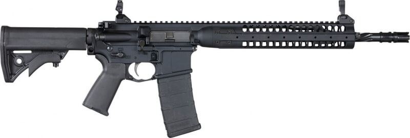 "LWRC ICR5B16SPR Individual Carbine SPR Semi-Auto .223/5.56 NATO 16.1"" 30+1 Adjustable Black"