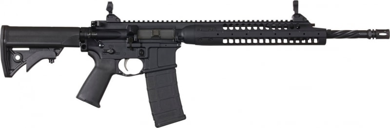 "LWRC ICA5R5B16 Individual Carbine A5 Semi-Auto .223/5.56 NATO 16.1"" 30+1 Adjustable Black"