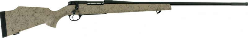 "Weatherby MUTM300WR8B Mark V Ultra Lighweight Bolt 300 Weatherby Magnum 28"" 3+1 Synthetic Tan w/Black Spiderweb Stock Black"