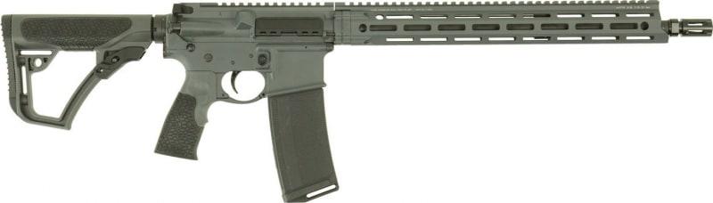 """Daniel Defense 13042047 DDM4 V7 Semi-Auto .223/5.56 NATO 16"""" 30+1 6-Position Gray Stock Gray Cerakote"""