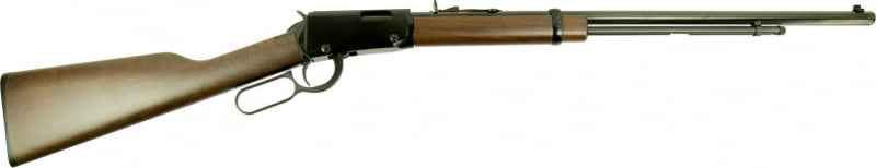"Henry H001TLB Frontier Lever Action 22 Short/Long/Long Rifle 24"" 16 LR/21 Short American Walnut Stock Blued"