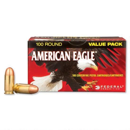 American Eagle .45 ACP 230 GR FMJ Ammo, AE45A100 - 100rd Box