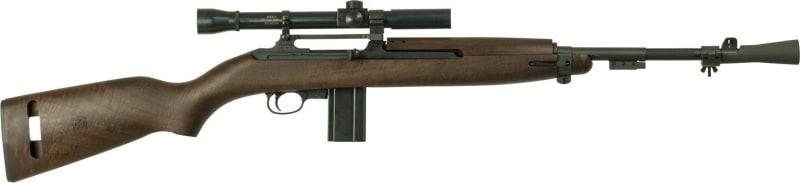 "Inland Mfg ILM320 T30 Carbine with Scope Bolt 30 Carbine 18"" 10+1 Walnut Stock Black"