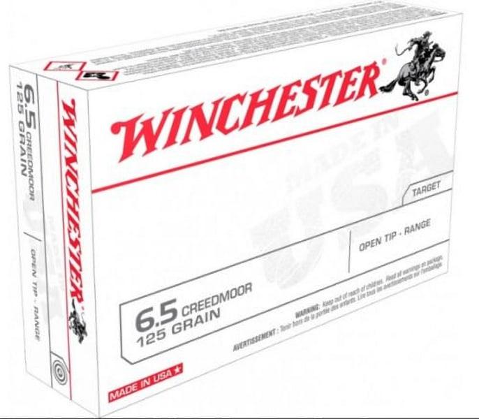 Winchester Ammo USA65CM USA 6.5 Creedmoor 125 Fmjot - 20rd Box