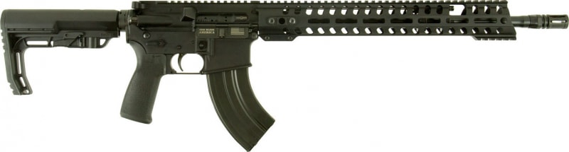 "POF 01184 Renegade Semi-Auto 7.62x39mm 16.5"" 30+1 6-Position MFT BMS Minimalist Hard Coat Anodized"