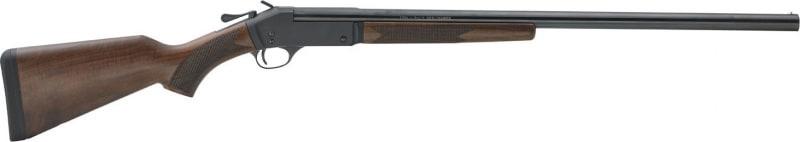 """Henry H01520 Single Shot Steel Frame Break Open 20GA 26"""" 3"""" Walnut Stock Blued Steel Receiver Matte Black"""