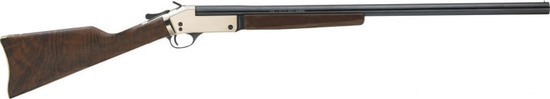 "Henry H015B20 Single Shot Brass Frame Break Open 20GA 26"" 3"" Walnut Stock Brass Receiver Matte Black"
