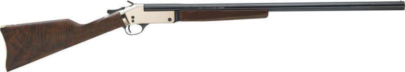 "Henry H015B4570 Singleshot Brass Break Open 45-70 Government 22"" 1 American Walnut Stock Silver"