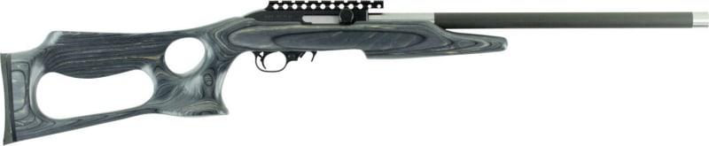 """Magnum Research MLR22WMBP Magnum Lite Barracuda Semi-Auto 22 WMR 19"""" 9+1 Laminate Gray Stock Black"""