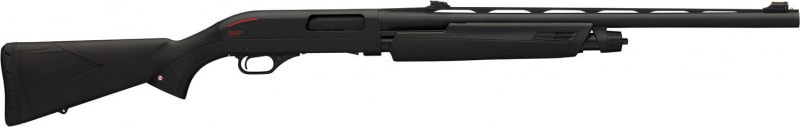 "Winchester Guns 512341690 SXP Turkey Pump 20GA 24"" 3"" FO Black Synthetic Stock Aluminum Receiver Black"