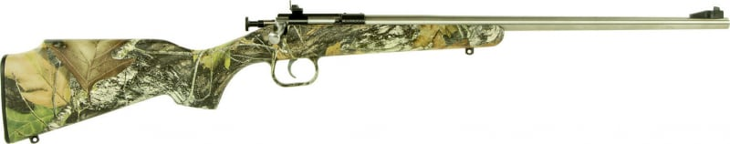 "Crickett KSA2166 Crickett Bolt 22 LR 16.12"" 1 Synthetic Mossy Oak Break-Up Stock Stainless"