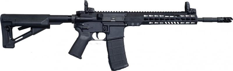 "ArmaLite M-15 Tactical Rifle Semi-Auto .223/5.56 NATO 16"" FS Pinned 30+1 MBUS Magpul STR Hard Coat Anodized"