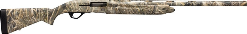 "Winchester Guns 511207291 SX4 Waterfowl Hunter Semi-Auto 12GA 26"" 3.5"" Synthetic Stock Aluminum Alloy Receiver Realtree Max-5"