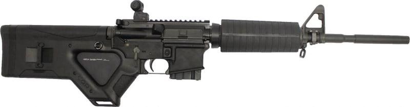 "Stag Arms SA2FD Model 2F Featureless Semi-Auto .223/5.56 NATO 16"" 10+1 Hera CQR Featureless Black"