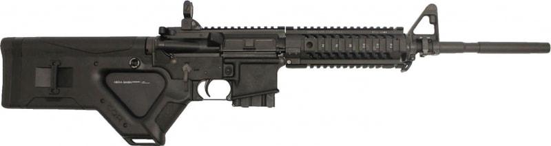 "Stag Arms SA2TFD Model 2TF Featureless Semi-Auto .223/5.56 NATO 16"" 10+1 Hera CQR Featureless Black"