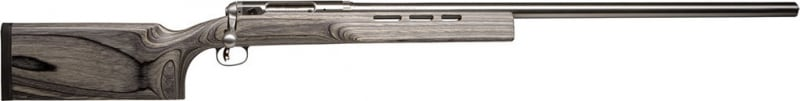 "Savage 18155 12 F Class Bolt 6.5x284 Norma 30"" 1 Laminate Gray Stock Stainless Steel"