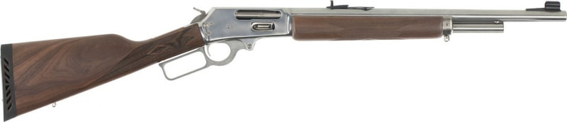 "Marlin 70464 1895 Guide Gun Lever 45-70 Government 18.5"" 4+1 Black Walnut Stock Stainless Steel"