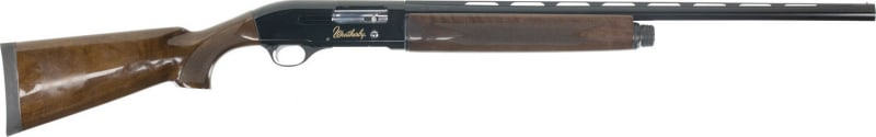 "Weatherby SA081226PGM SA-08 Deluxe Semi-Auto 12GA 26"" 3"" Walnut High Gloss Stock Blued Aluminum Rcvr Blued"