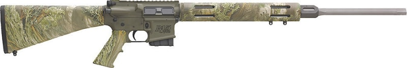 """Remington Firearms 60007 R-15 VTR SS Varmint Semi-Auto .223/5.56 NATO 24"""" 5+1 A2 Realtree Max-1 Stock OD Green/Stainless Steel"""