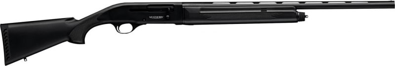 "Weatherby SA08SY2024PG SA-08 Synthetic Compact Semi-Auto 20GA 24"" 3"" Black Synthetic Stock Black Aluminum Alloy Receiver Matte Black"