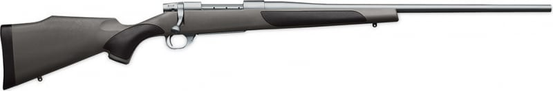 "Weatherby VGS270NR40 Vanguard Series 2 Stainless Synthetic Bolt 270 Winchester 24"" 5+1 Synthetic w/Rubber Panels Gray Stock Stainless Steel"