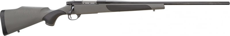 """Weatherby VGT222RR4O Vanguard Series 2 Synthetic Bolt 22-250 Remington 24"""" 5+1 Synthetic w/Rubber Panels Gray Stock Blued"""