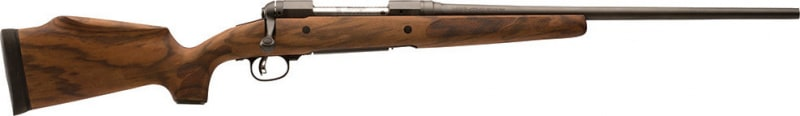 "Savage 19659 11/111 Lady Hunter Bolt 270 Win 20"" 4+1 Walnut Oil Finish Stock Black"