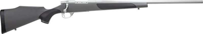 """Weatherby VGS308NR4O Vanguard Series 2 Stainless Synthetic Bolt 308 Winchester/7.62 NATO 24"""" 5+1 Synthetic w/Rubber Panels Gray Stock Stainless Steel"""