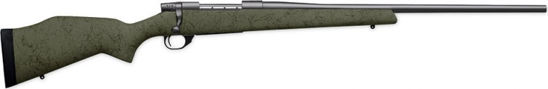 """Weatherby VMT300WR4O Vanguard Series 2 Range Certified Bolt 300 Weatherby Magazine 24"""" 3+1 Synthetic Green Stock Blued"""
