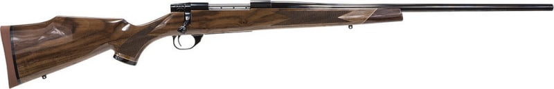 "Weatherby VGX270NR4O Vanguard Series 2 Deluxe Bolt 270 Winchester 24"" 5+1 Walnut Stock Blued High Polish"