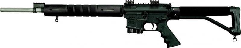"Windham Weaponry R20FSSFTSKV R20 Varmint Exterminator Semi-Auto .223/5.56 NATO 20"" 5+1 Polymer Skeleton Stl Black"