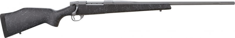 """Weatherby VBK240WR4O Vanguard Series 2 Back Country Bolt 240 Weatherby Magazine 24"""" 5+1 Synthetic Black w/Gray Spiderweb Stock Gray Cerakote"""