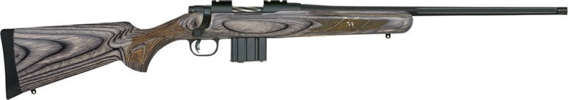 "Mossberg 27724 MVP Predator Threaded Barrel Bolt 223 Rem/5.56 NATO 18.5"" 10+1 Laminate Gray Stock Blued"