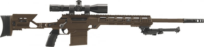 "FN 3703003380 Ballista 338 Lapua Base Platform Bolt 338 Lapua Magnum 26"" 8+1 Adjustable Folding Flat Dark Earth Stock Flat Dark Earth"