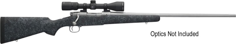 """Winchester Guns 535206228 70 Extreme Weather Bolt 30-06 22"""" 5+1 Bell & Carlson Gray Stock Stainless Steel"""