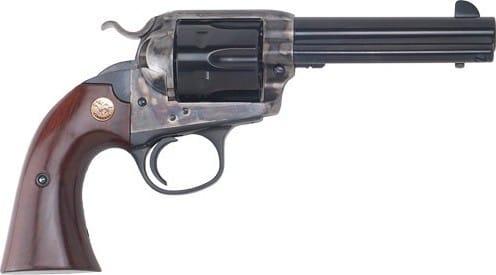"Cimarron CA612 SAA Bisley .45LC FS 4.75"" CC/BLUED Walnut Revolver"