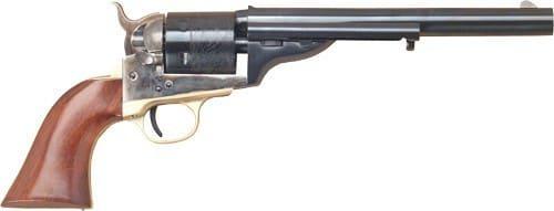 """Cimarron CA913 1872 Open TOP Navy .44SPL 7.5"""" FS CC/BLUED Walnut Revolver"""