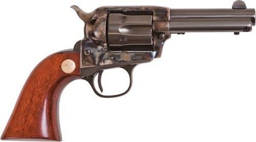 """Cimarron CA985 Model P JR .38 SPL FS 3.5"""" CC/BLUED Walnut Revolver"""