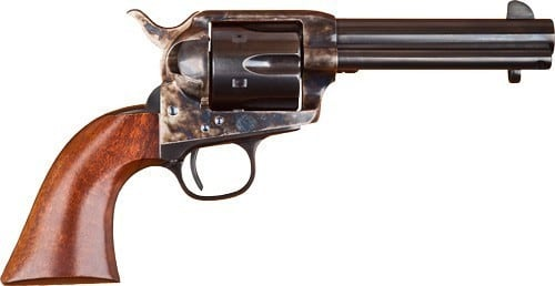"""Cimarron MP502 P-MODEL .38 SPL/.357 OM FS 4.75"""" CC/BLUED Walnut Revolver"""