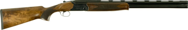 "Dickinson Hunter OS Over/Under 12GA 26"" 3"" Wood Stock White Steel"