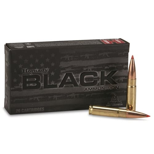 Hornady Black A-MAX 300 Blackout Ammunition 208 GR 20 Rd Box