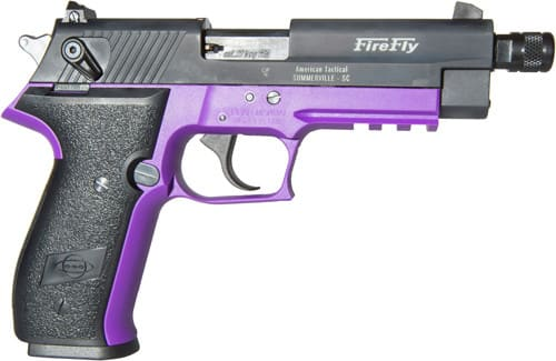 "ATI GERG2210TFFL Sport Firefly .22LR 4"" FS 10rd Threaded Purple"